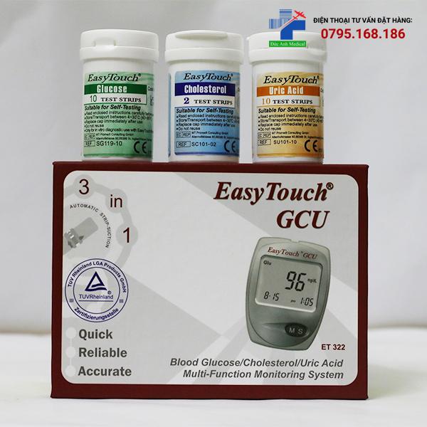 Máy đo đường huyết EASY TOUCH GCU