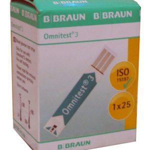 que thử tiểu đường Omnitest 3