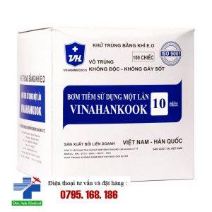 Bơm tiêm 10ml Vinahankook- hộp 100c