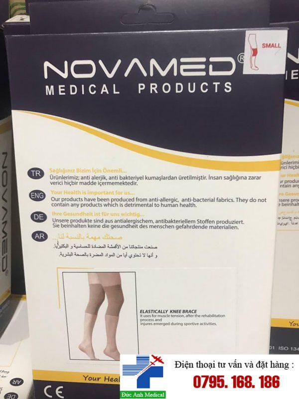 Tất gối- Vớ y khoa Novamed .2