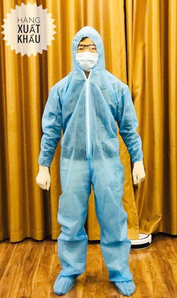 Quần áo phòng dịch