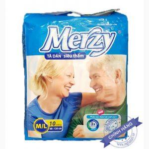 Bỉm dán Merzy cho người già size M-L
