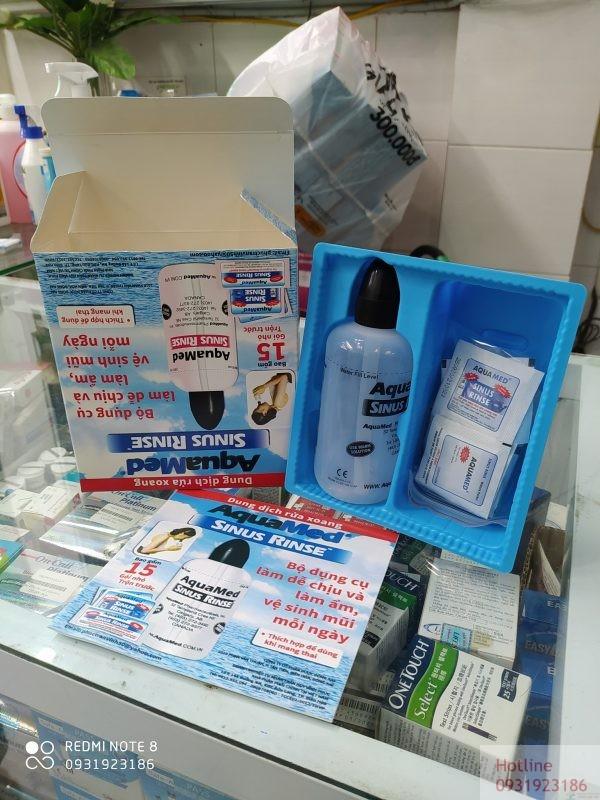 Bình rửa mũi AquaMed Sinus Rinse